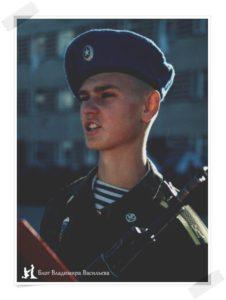Воинская присяга 2001г, Новосибирск